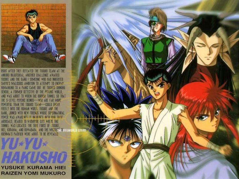 gallery for yu yu hakusho wallpaper